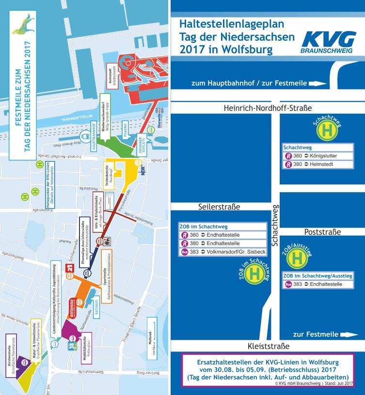 Kvg Braunschweig Zusatzfahrten Der Kvg Linien 360 Und 380 Zum 35