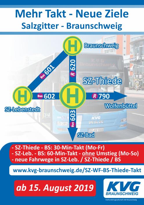 Kvg Braunschweig Mehr Takt Neue Wege Linien 601 602